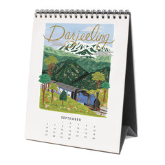Rifle Paper Co. 2020 World Traveler Desk Calendar