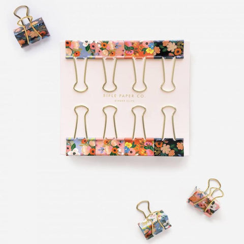 Rifle Paper Co Clips