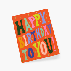 Rifle Paper Co. Birthday Card