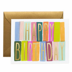 Rifle Paper Co. Merida Birthday Card