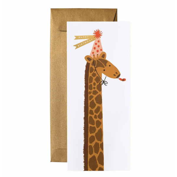 Rifle Paper Co. Giraffe Birthday Card