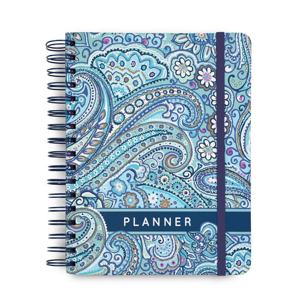 Vera Bradley 12 Month Non-Dated planner, Daisy Dot Paisley