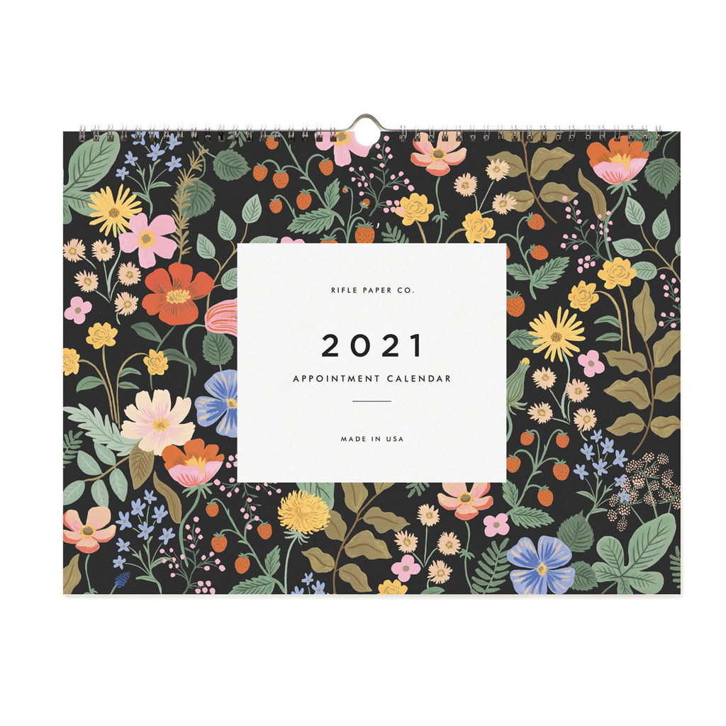 Rifle Paper Co. 2021 Garden Appointment Calendar