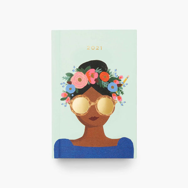 Rifle Paper Co. 2021 Planner - Flower Crown