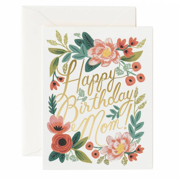 Rifle Paper Co. Happy Birthday Mom Card