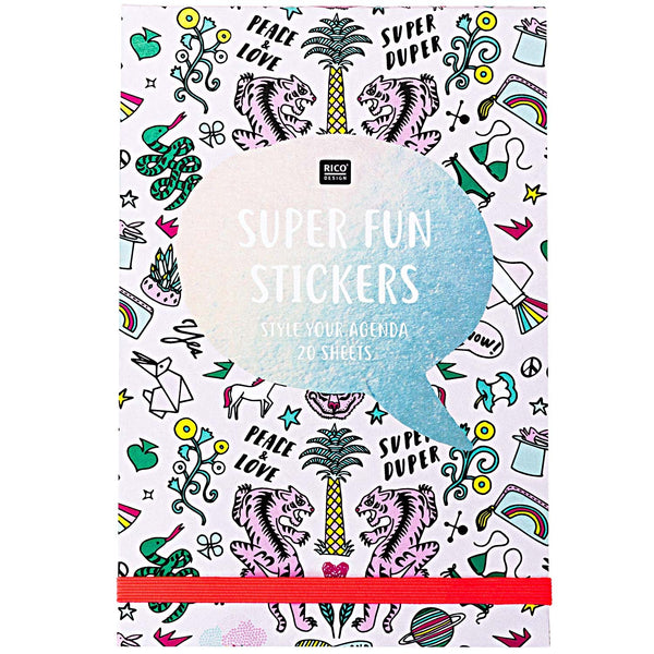 Paper Poetry Sticker Book Wonderland - Pink