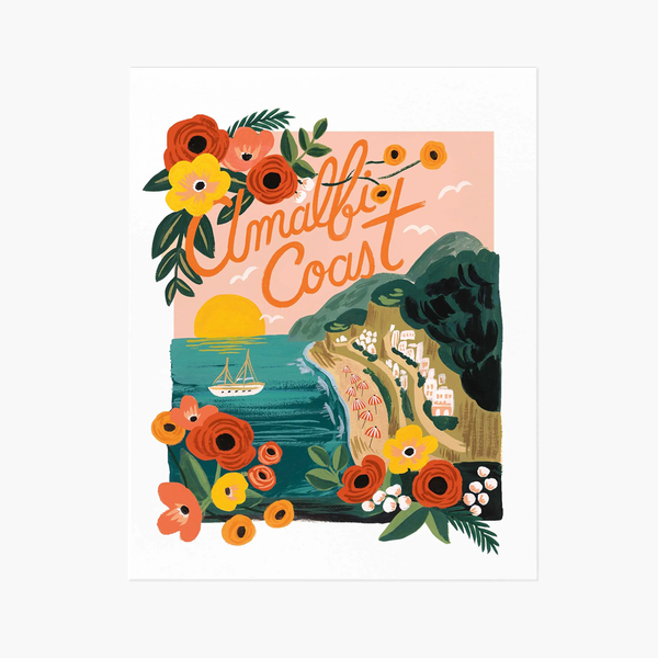 Rifle Paper Co. Amalfi Coast Art Print