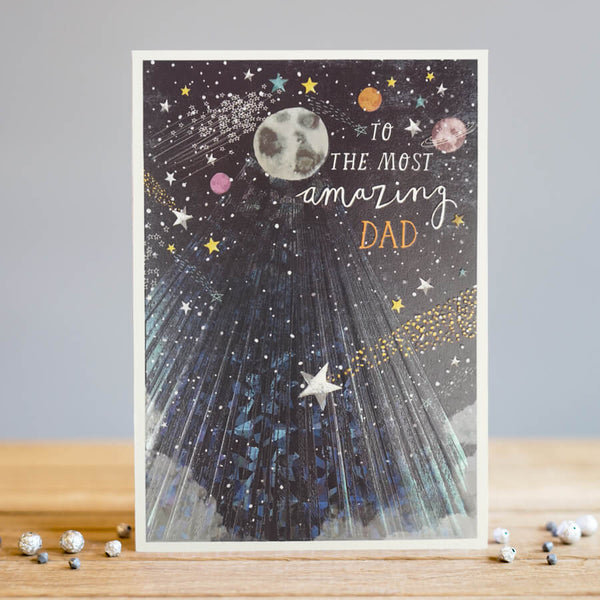 Louise Tiler Amazing Dad Father's Day Card