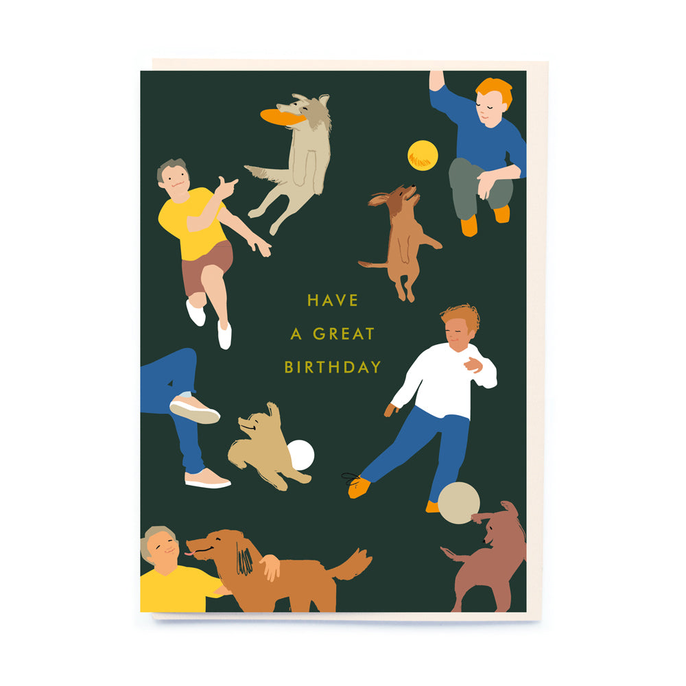 Noi Publishing Ball Games Birthday Card