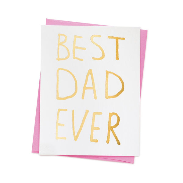 Ashkahn Best Dad Ever Card