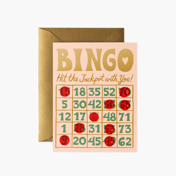 Rifle Paper Co. Bingo Card