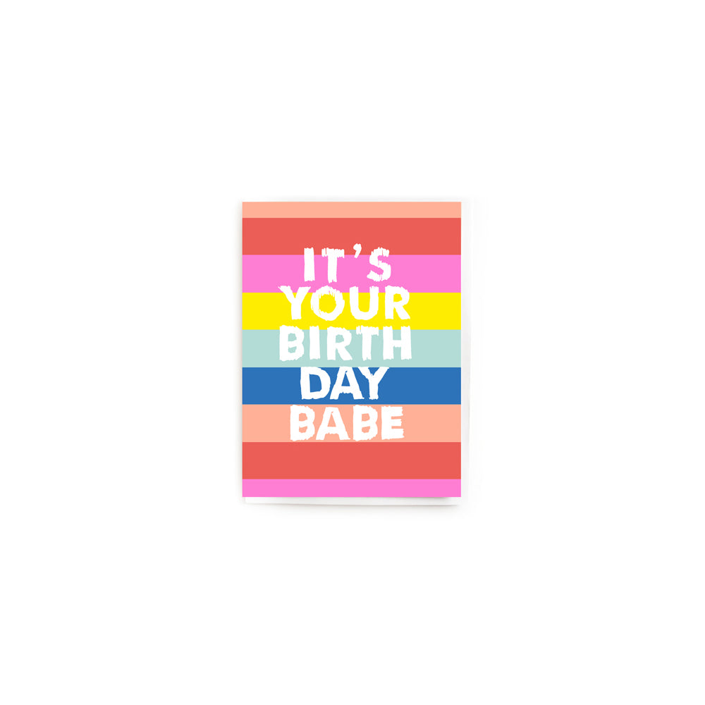 Noi Publishing Birthday Babe Birthday Card