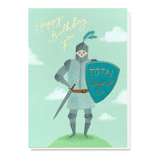 Stormy Knight Birthday Legend Card
