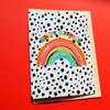 Eleanor Bowmer Happy Birthday Rainbow Card
