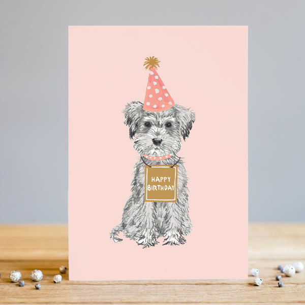 Louise Tiler Birthday Dog Card