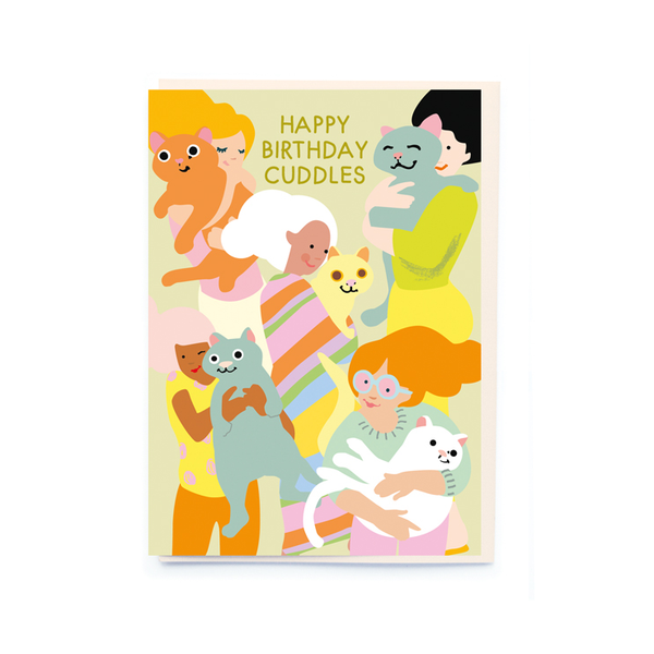 Noi Publishing Happy Birthday Cuddles Card