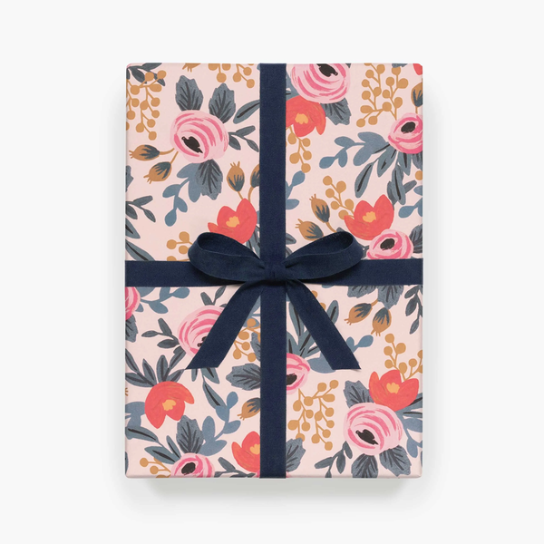 Rifle Paper Co. Blushing Rosa Gift Wrap