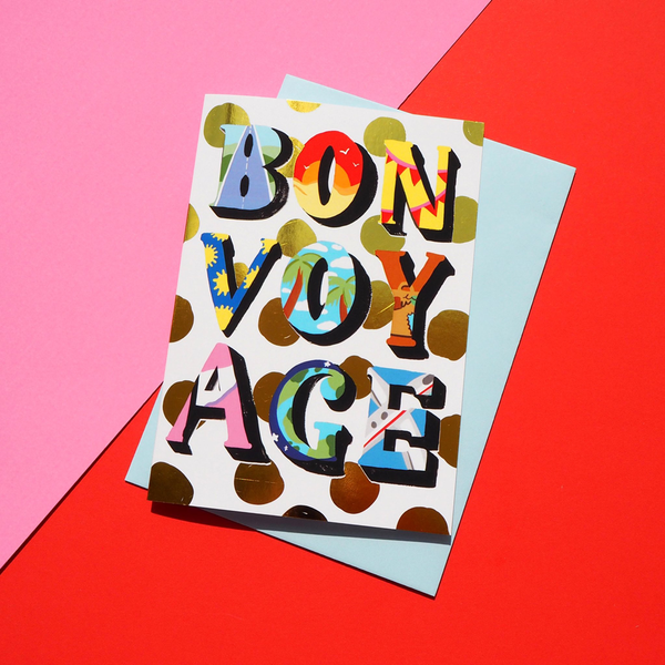 Eleanor Bowmer Bon Voyage Card