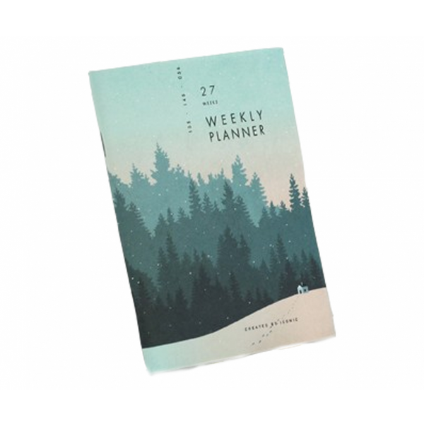 Iconic A6 Weekly Planner V.3 - Undated - Cottage