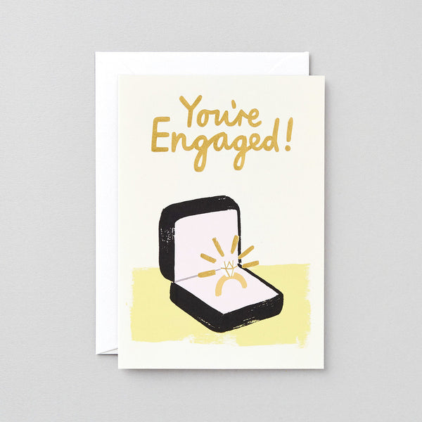 Charlotte Trounce You're Engaged Card
