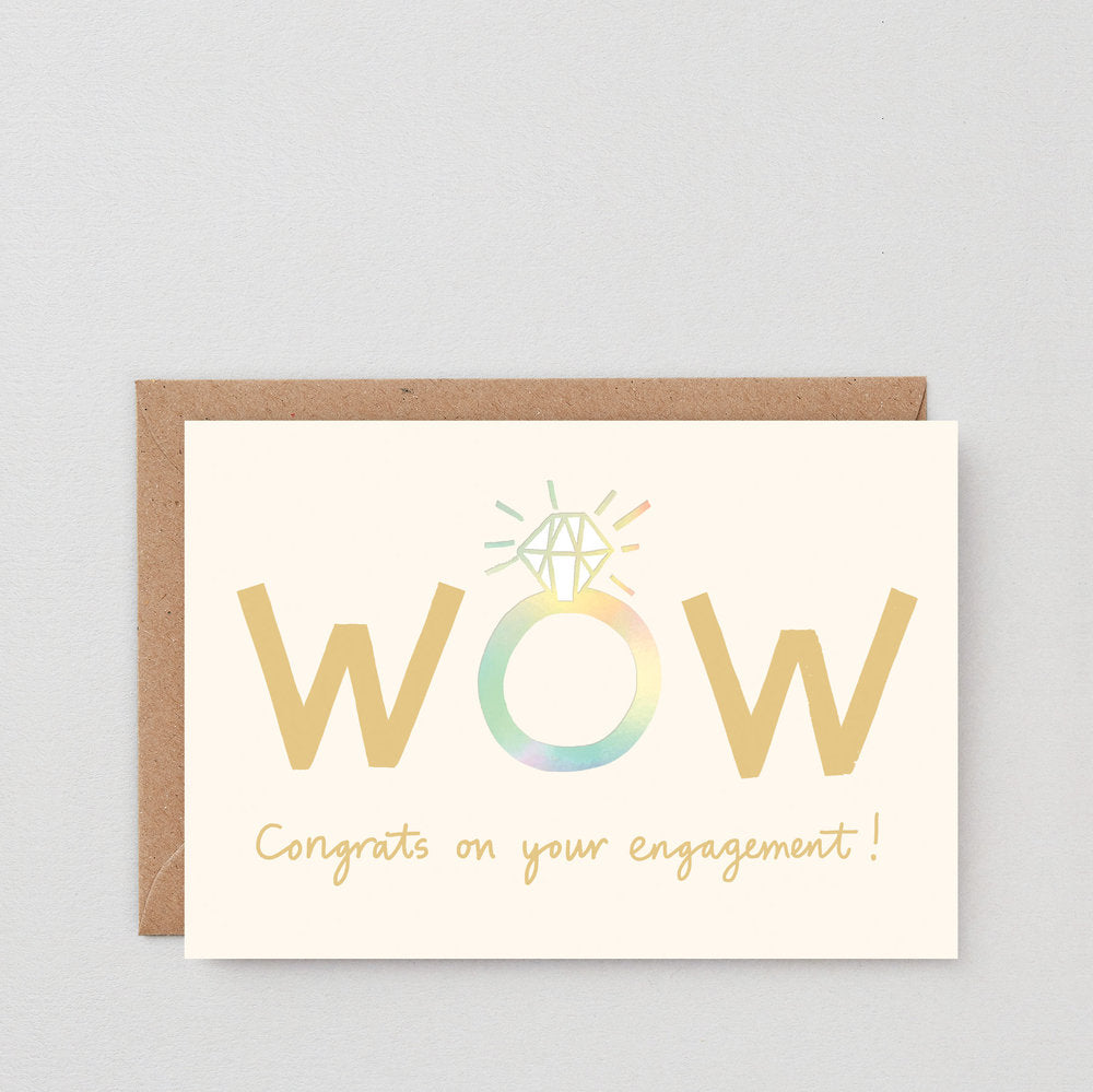 Charlotte Trounce WOW Congrats Engagement Card