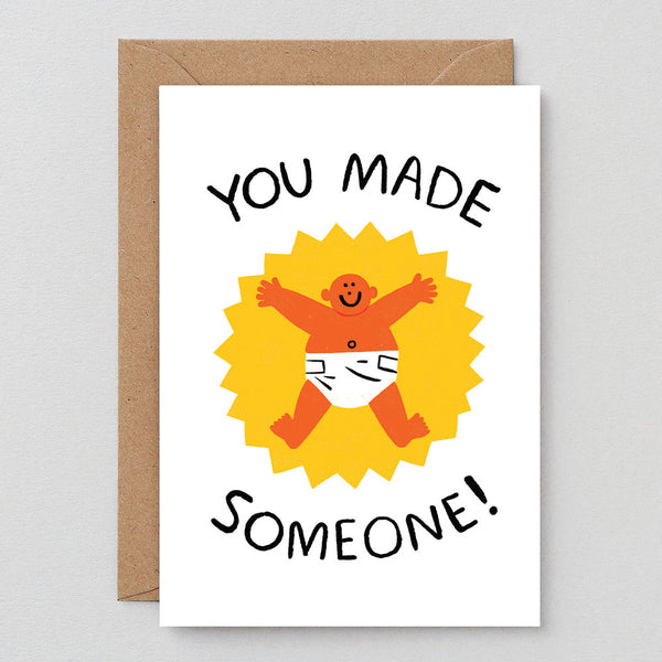 Cari Vander Yacht You Made Someone Baby Card