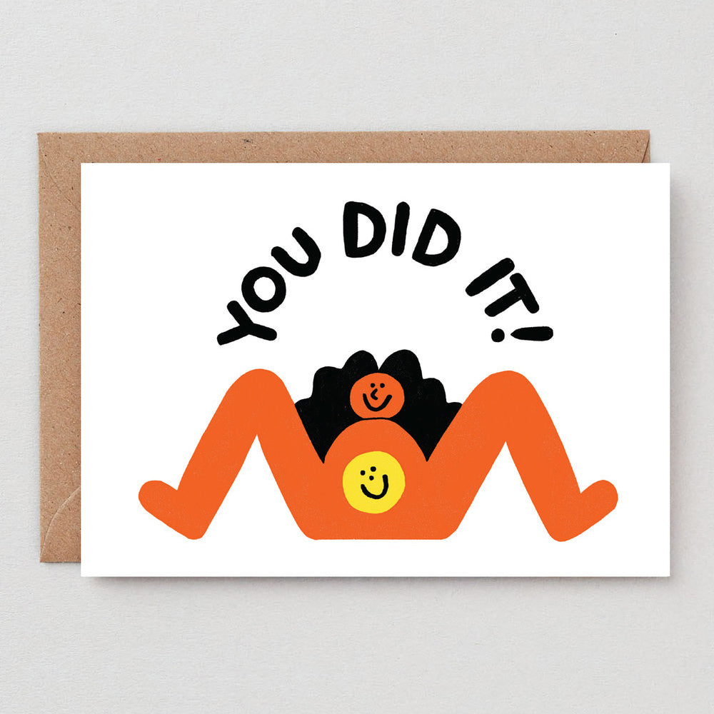 Cari Vander Yacht You Did It! Baby Card
