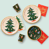 Rifle Paper Co. Holiday Large Plates - Nutcracker