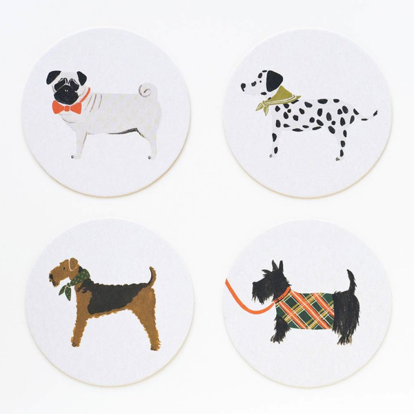 Rifle Paper Co. Canine Coaster Set