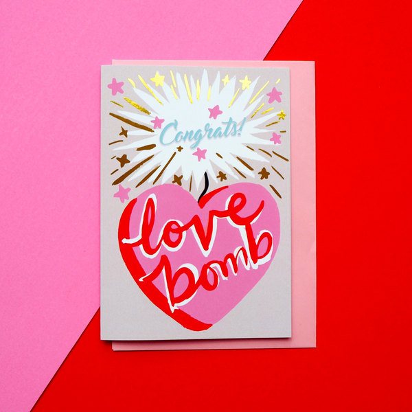 Eleanor Bowmer Love Bomb Card