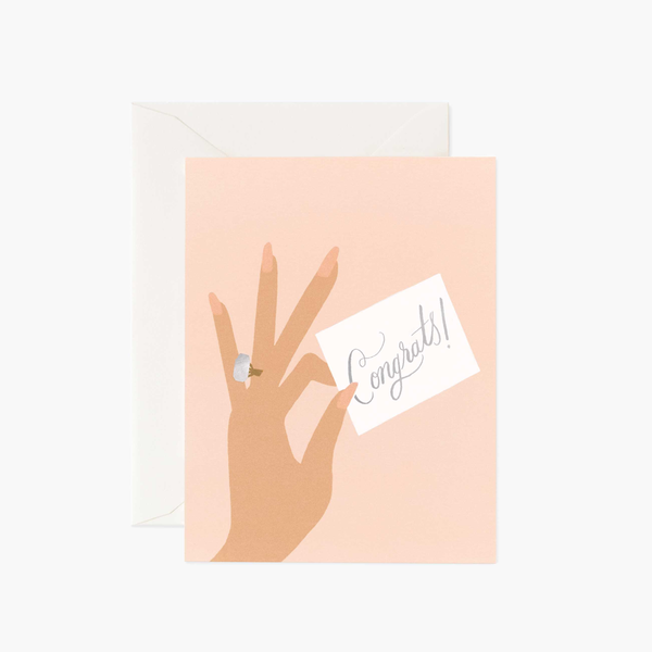 Rifle Paper Co. Congrats Ring Card