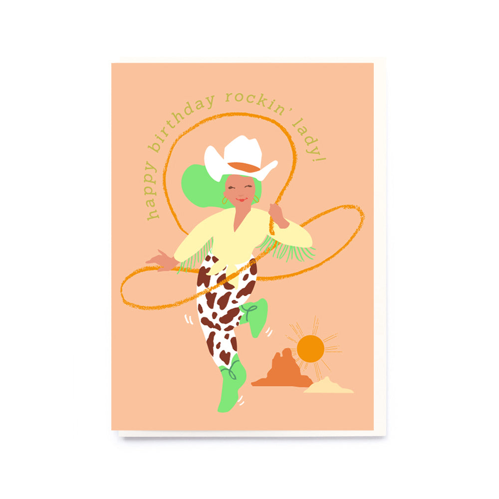 Noi Publishing Cowgirl Birthday Card