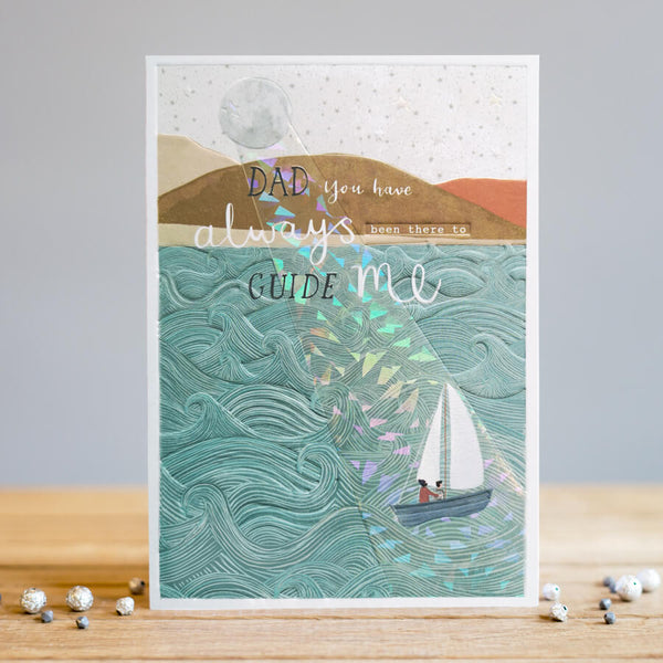 Louise Tiler Guiding Dad Card