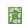 Rifle Paper Co. Daisies Thankful Greeting Card