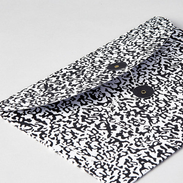 Leta Sobierajski Ripple Black/White Envelope