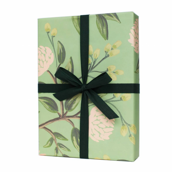 Rifle Paper Co. Emerald Peonies Gift Wrap