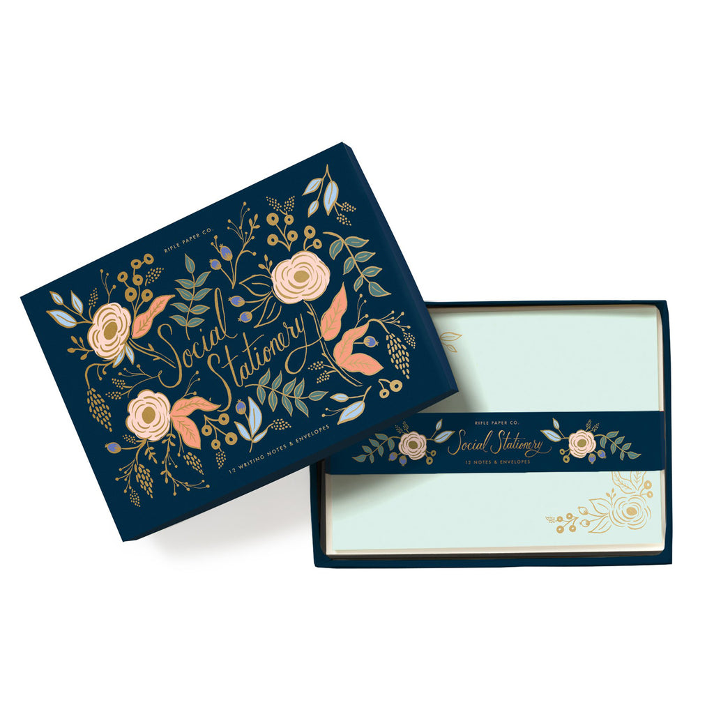 Rifle Paper Co. Colette Social Stationery Set