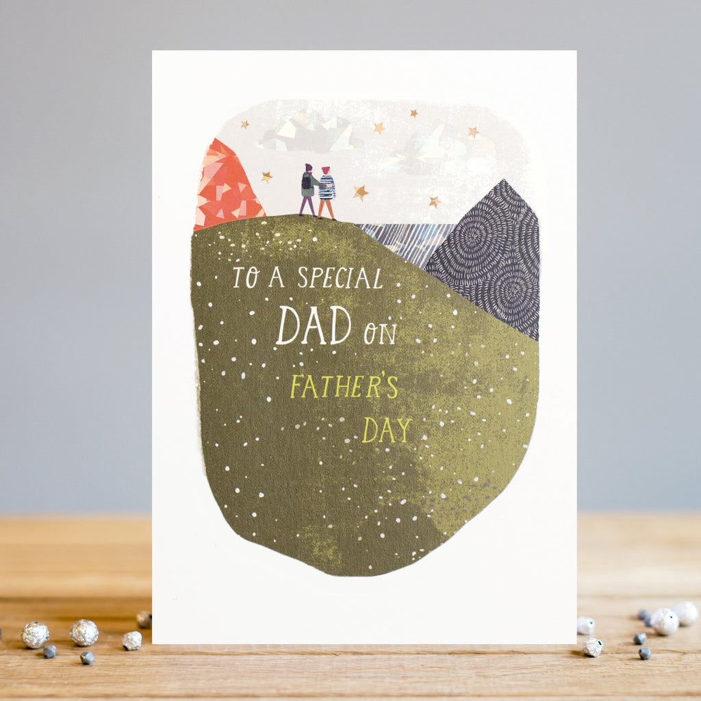 Louise Tiler Father's Day Hill Card