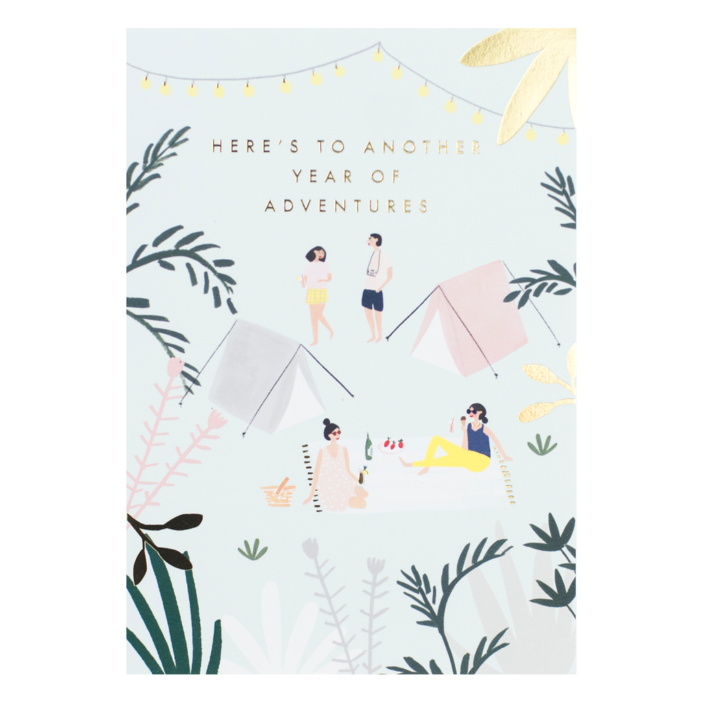 Meraki Festival Birthday Card