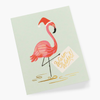 Rifle Paper Co. Holiday Flamingo Christmas Card
