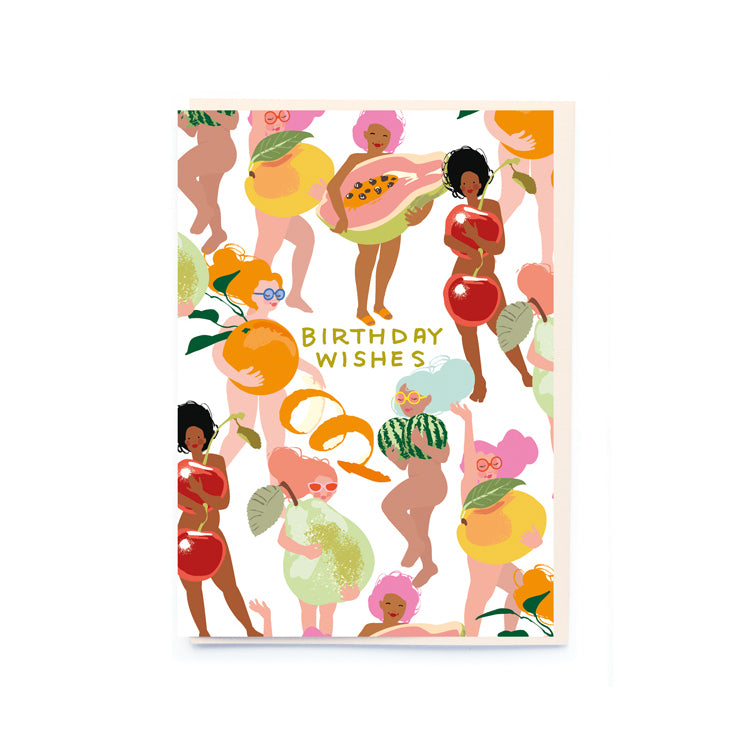 Noi Publishing Fruit Nudies Birthday Card
