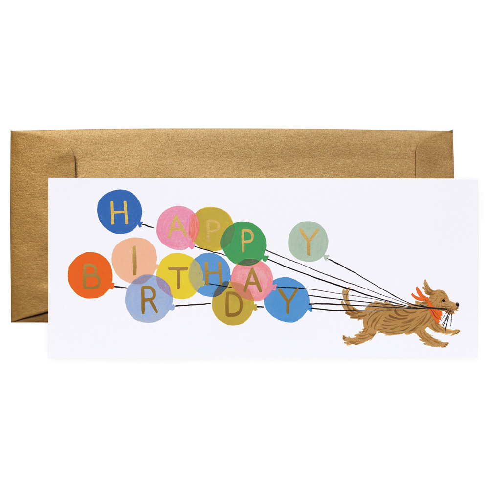 Rifle Paper Co. Balloon Birthday Card No. 10