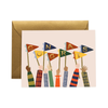 Rifle Paper Co. Congrats Pennants Card