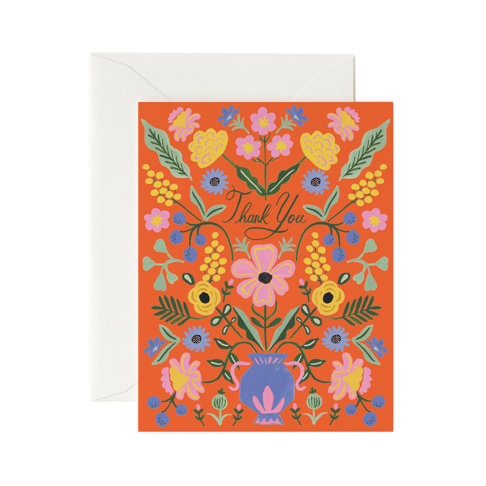 Rifle Paper Co. Gabriella Thank You Card