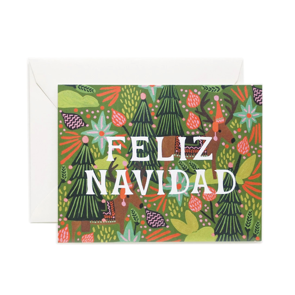 Rifle Paper Co. Feliz Navidad Christmas Card