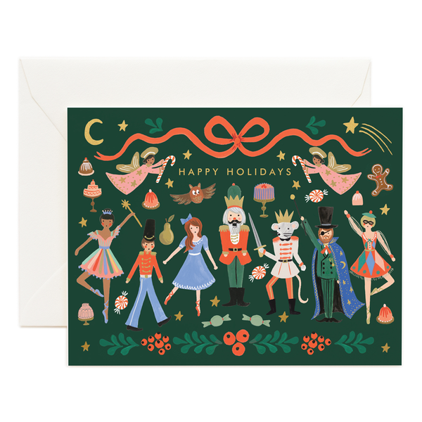 Rifle Paper Co. Nutcracker Ballet Christmas Card