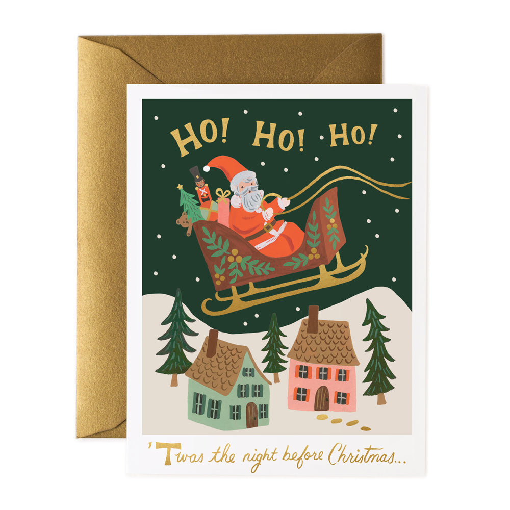 Rifle Paper Co. Christmas Delivery Christmas Card SET
