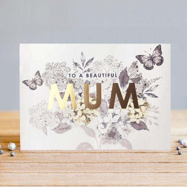 Louise Tiler Golden Mum Mother's Day Card
