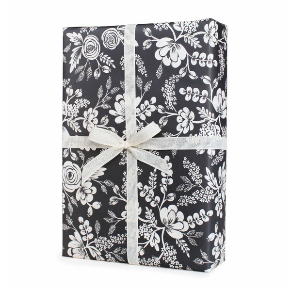 Rifle Paper Co. Graphite Lace Gift Wrap