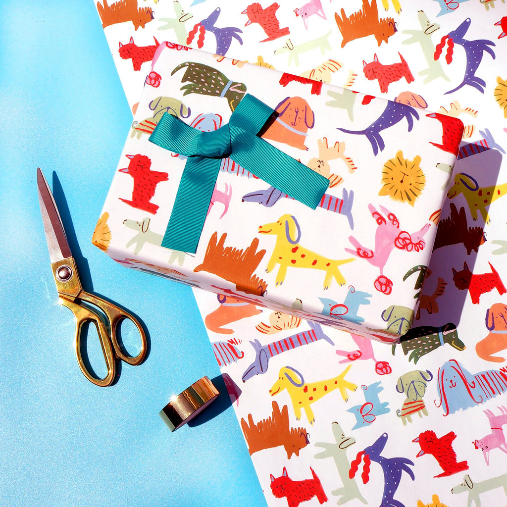 Eleanor Bowmer Happy Dogs Gift Wrap